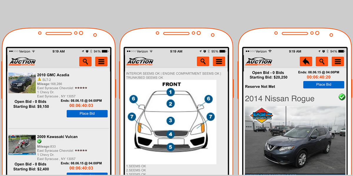 Car Auction Apps >> Press Release V3 Auction Simplified App Is Focused On Partner